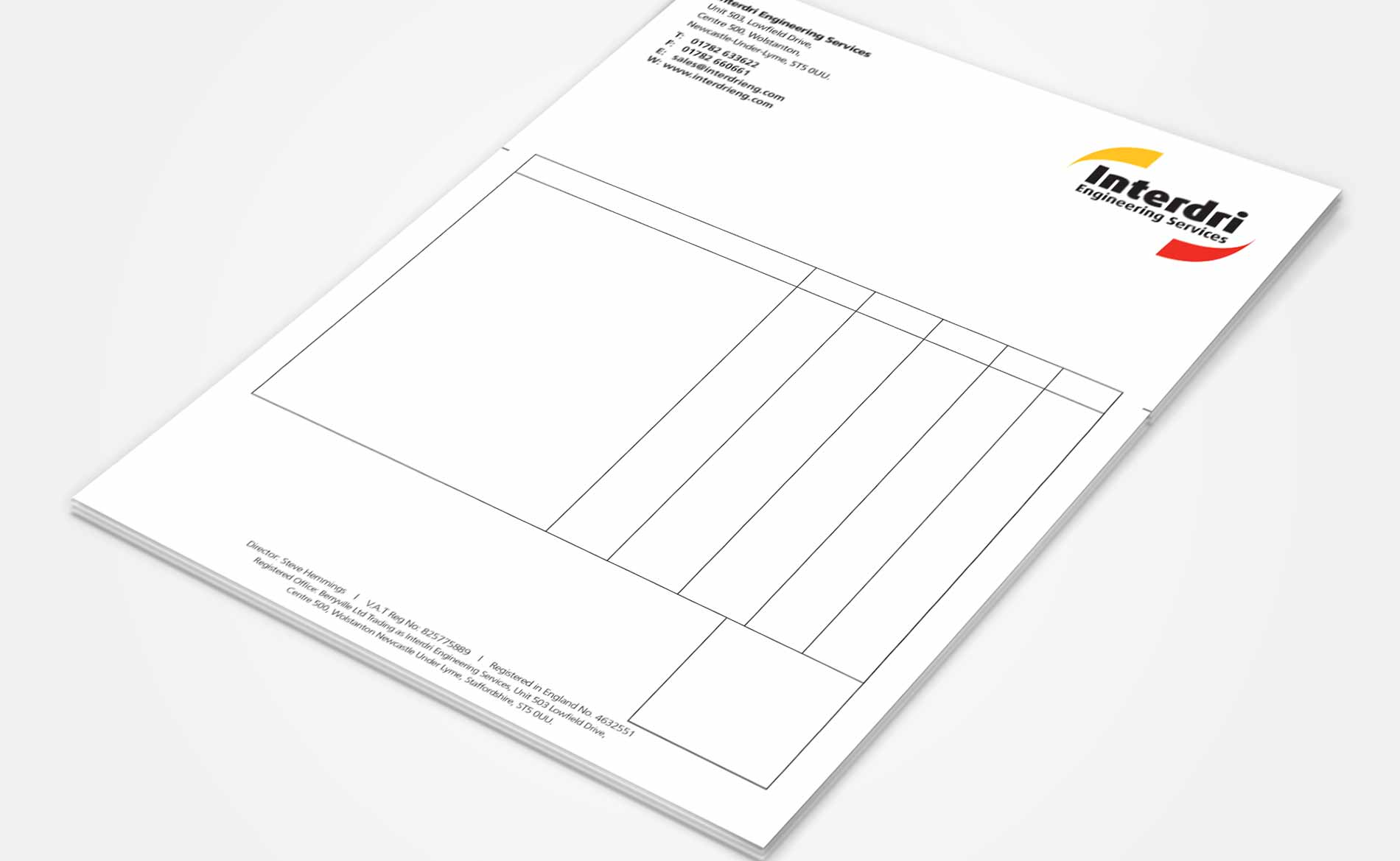 what is letterhead stationery