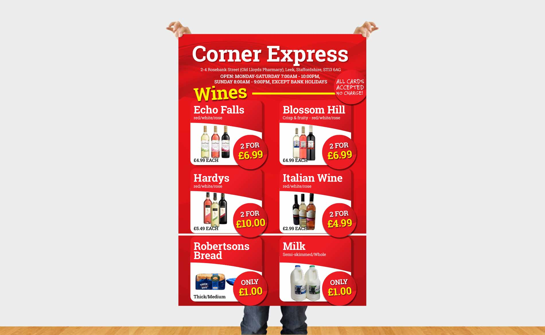 Large Format Print, Corner Express, Large Format Posters, Stoke-on-Trent, Staffordshire