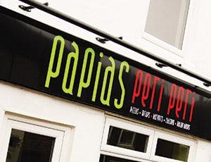 Signage, Fasica Shop Signage, Stoke-on-Trent, Staffordshire