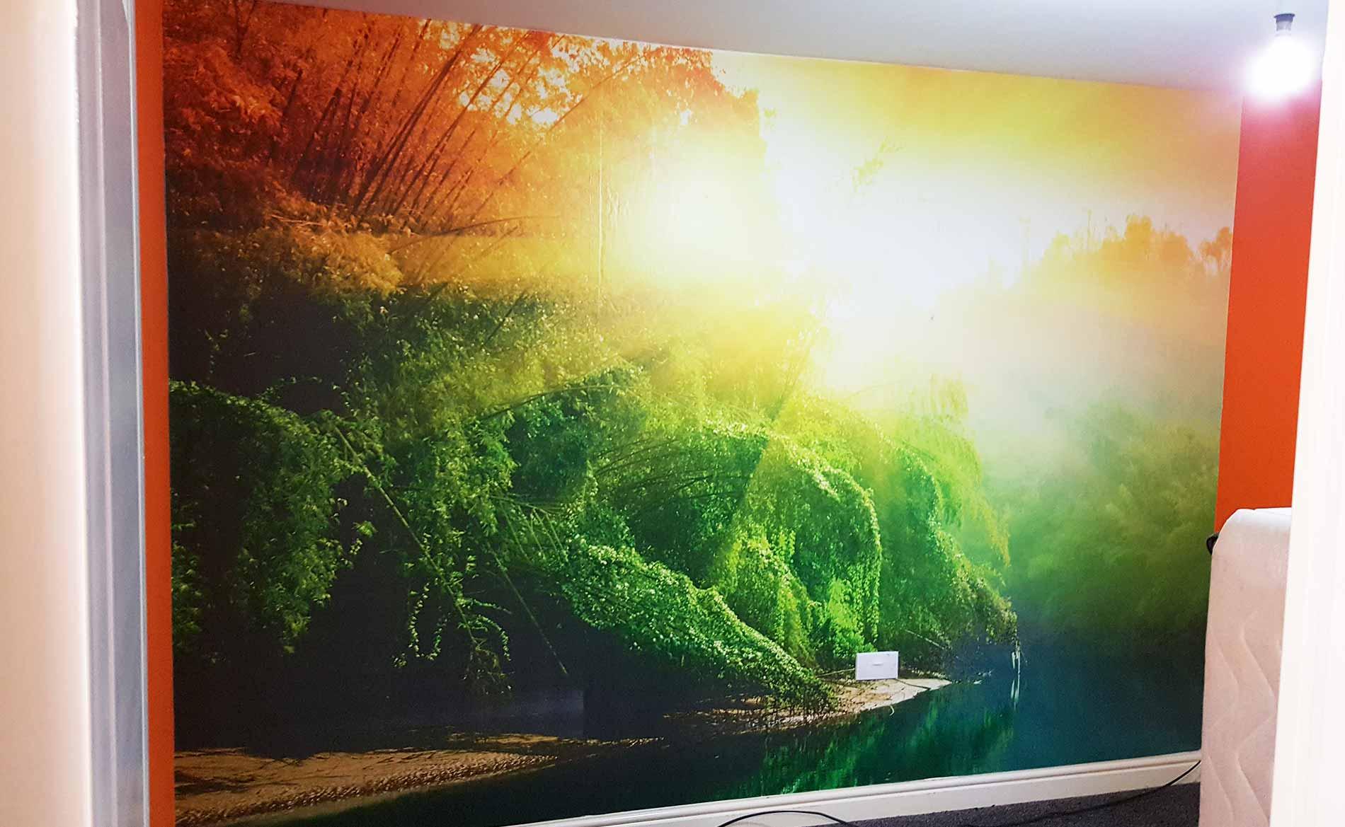 Wallpaper & Coverings, Custom Bedroom Wallpaper, Signage, Stoke-on-Trent, Staffordshire