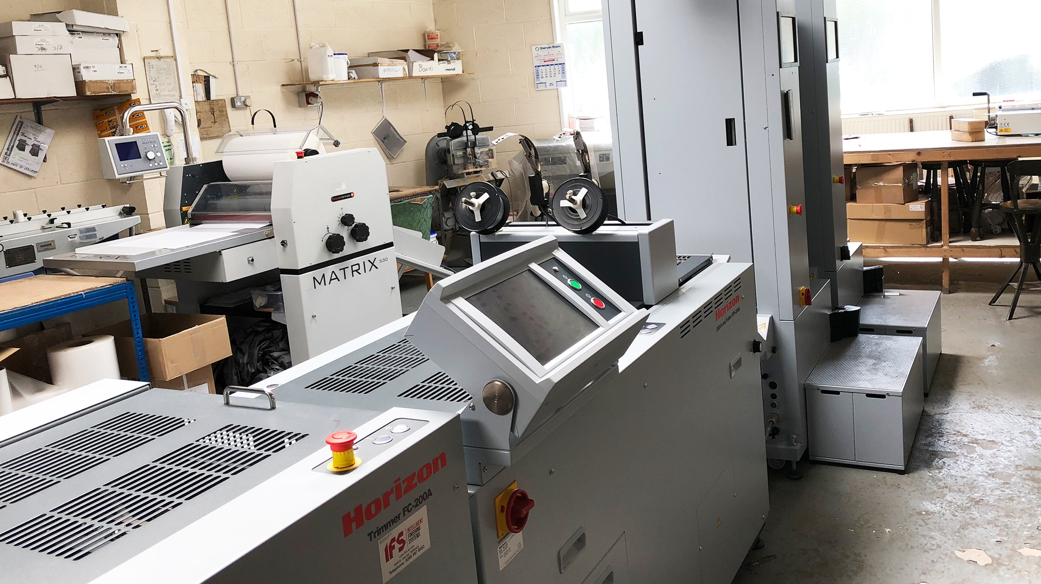 Sherwin Rivers Ltd - Horizon Booklet Maker SPF-200A