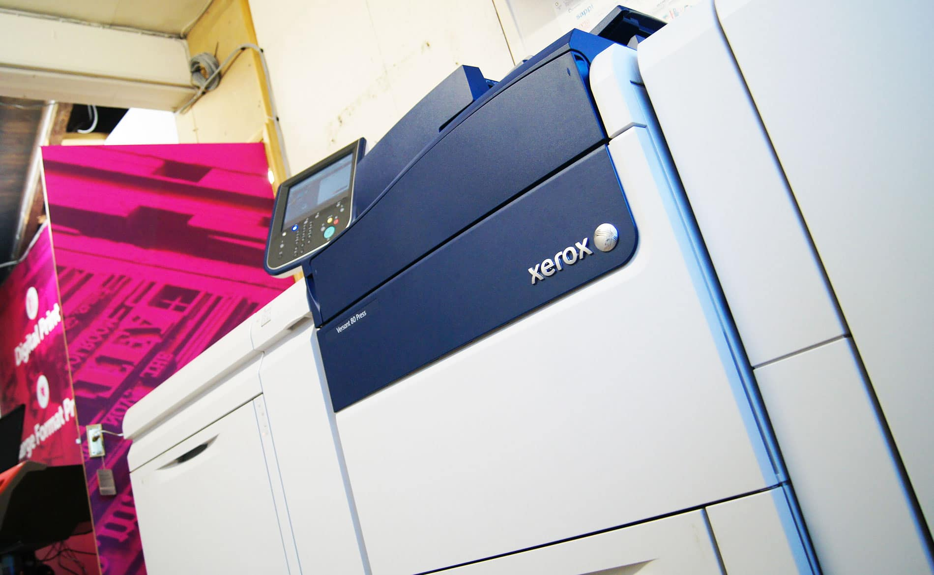 Sherwin Rivers Ltd - Xerox Versant 80