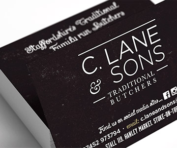 Digital Print, Luxury Laminated Business & Appointment Cards, Stoke-on-Trent, Staffordshire