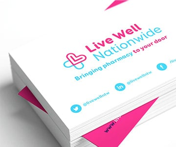 Digital Print, Standard Business & Appointment Cards, Stoke-on-Trent, Staffordshire