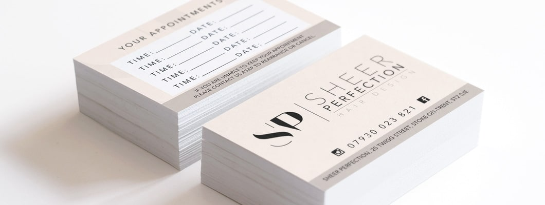 Digital Print, Business & Appointment Cards, Stoke-on-Trent, Staffordshire