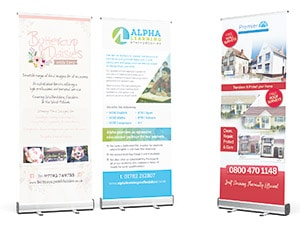 Large Format Print, Roller Banners, Pop-up Banners, Stoke-on-Trent, Staffordshire