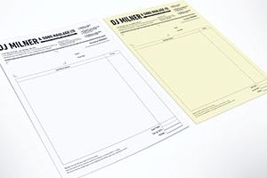 Duplicate & Triplicate NCR Books, Sets & Pads, Stoke-on-Trent, Staffordshire