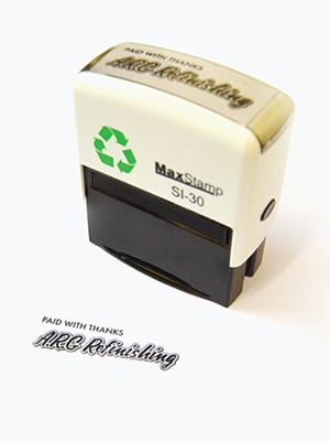Rubber Stamps, Self-Inking Stamps & Ink Pads, Stoke-on-Trent, Staffordshire - Photo